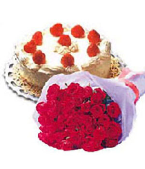 flower and cake -  China Flower Delivery Shop