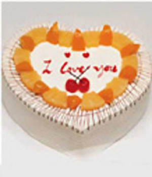 Heart Love-China Cakes delivery