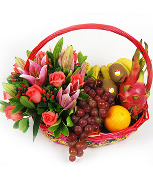 Greeting Gift Basket