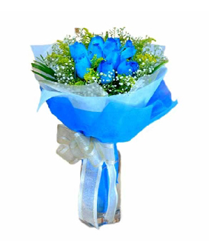 10 stems Chinese blue roses