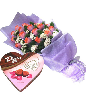 Flower delivery china - For sweet heart