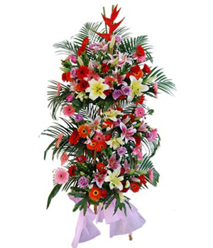 business flower arrangements in China