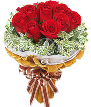 12 premium long stem red roses China delivery