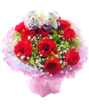 Flowers to China - Love - Here