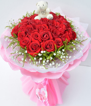Popular 33 stems bouquet in China