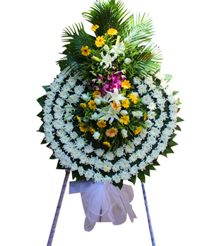 Flower For Funeral In China