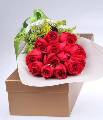 Flower to China by in Gift Box