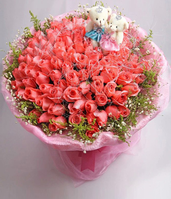 Send Flower to China, 99 Pink Roses