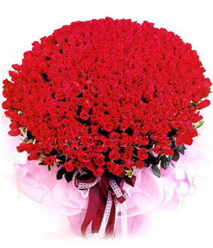 send 999 red roses to China
