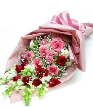 Beautiful combination - flowers to China