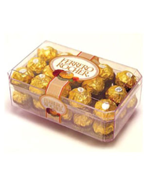 ferrero rocher - chocolate to China