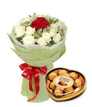 Warm Fantasy - flowers to China