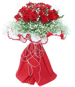 For Loving You - 19 red roses