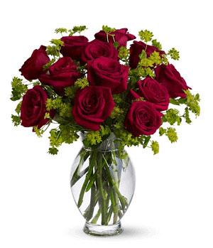 一打红玫瑰