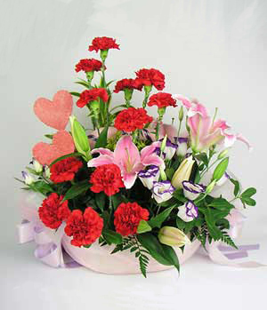 Flowes For Mother Basket - China