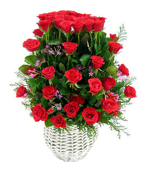 delivery flower China - My Love Rose Basket