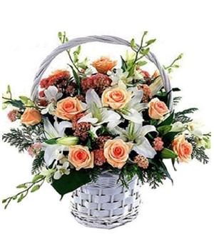 Flower Basket Delivery China