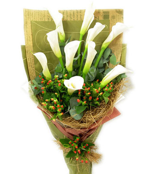 calla lilies delivered China