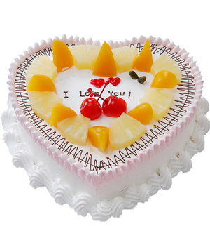 Heart Cake: send cakes China