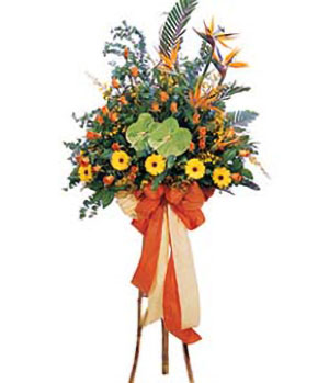 Business Flower Basket A