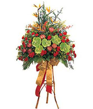 Business Flower Basket B