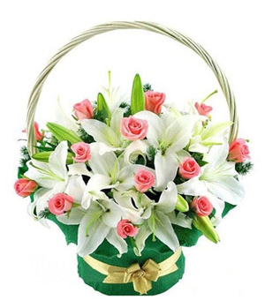Flowers basket arrangments