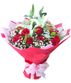 Send flowers with best wishes to China
