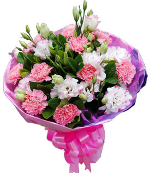 Carnations Bouquet to China