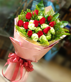 Heart And Soul, Rose Bouquet to China