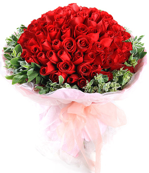 Flower Delivery in China, 99 Red Rose